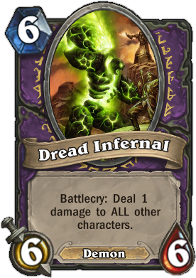 dread infernal HearthStone