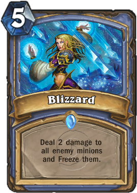 HearthStone Card Blizzard