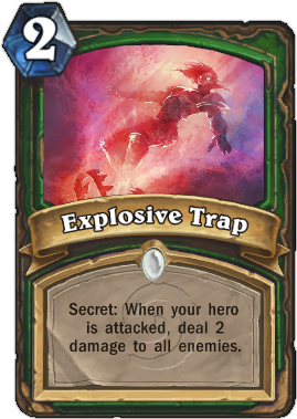 HearthStone Card Explosive Trap