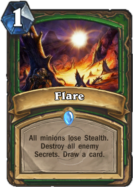 HearthStone Card Flare