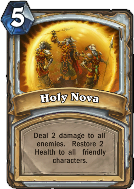 HearthStone card Holy Nova