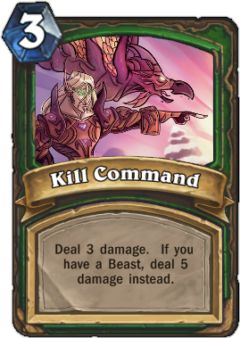 HearthStone Card Kill Command