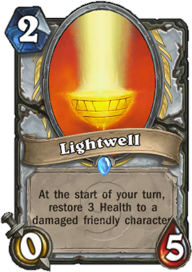 HearthStone Card Lightwell