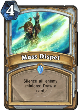 HearthStone card Mass Dispel
