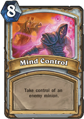 HearthStone card Mind Control
