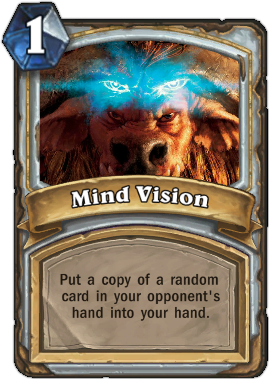 HearthStone card Mind Vision