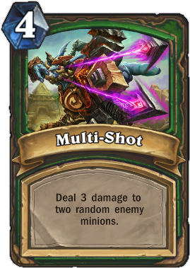HearthStone Card Multi-Shot