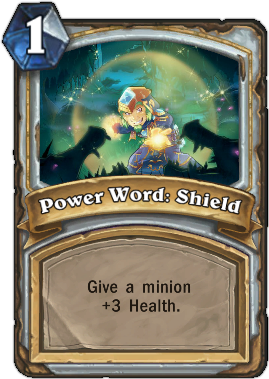 HearthStone card Power World Shield