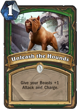 HearthStone Card Unleash the Hounds