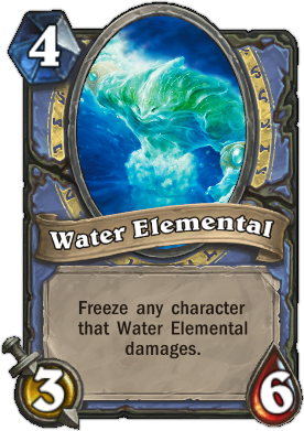 HearthStone Card Water Elemental