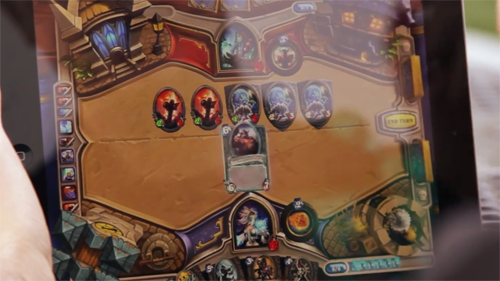 HearthStone iPad version